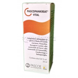 Pascoe Pascopankreat Medicinale Omeopatico Gocce da 20 ml