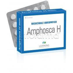Lehning Laboratoires Amphosca H Medicinale Omeopatico 60 Compresse