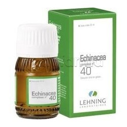 Lehning Laboratoires Echinacea 40 comp. Medicinale Omeopatico Gocce 30 ml