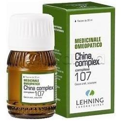 Lehning Laboratoires China 107 comp. Medicinale Omeopatico Gocce 30 ml