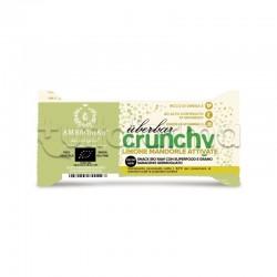 Ambrosiae UberBar Crunchy Limone Mandorle Attivate Barretta Nutriente 38g