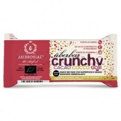Ambrosiae UberBar Crunchy Cacao Cocco Goji Barretta Nutriente 38g
