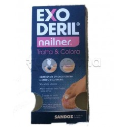 Sandoz Exoderil Nailner Tratta e Colora per Onicomicosi 5mL