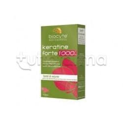 Biocyte Keratine Forte 1000mg Integratore per Capelli 40 Capsule