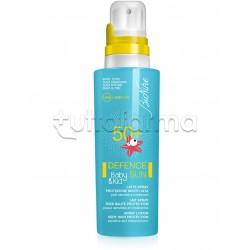 Bionike Defence Sun Baby Latte Solare Spray Protezione Alta SPF 50+ 125 ml