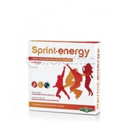 Erba Vita Sprint Energy Integratore Energizzante per Sportivi 10 Flaconcini