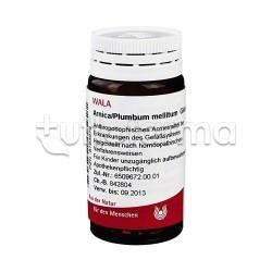 Wala Arnica Plumbum Mellicum Medicinale Omeopatico Globuli Velati 20g