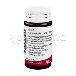 Wala Larynx Apis Compositum Medicinale Omeopatico Globuli Velati 20g