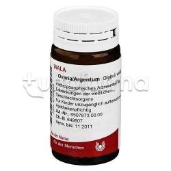 Wala Ovaria Argentum Medicinale Omeopatico Globuli Velati 20g