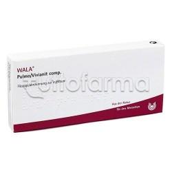Wala Pulmo Vivianit Compositum Medicinale Omeopatico 10 Fiale