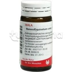 Wala Renes Equisetum Compositum Medicinale Omeopatico Globuli Velati 20g