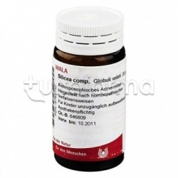 Wala Silicea Compositum Medicinale Omeopatico Globuli Velati 20g