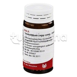 Wala Tendo Allium Cepa Compositum Medicinale Omeopatico Globuli Velati 20g