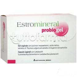 Estromineral Probiogel Gel Vaginale 30 ml e 6 Capsule Vaginali