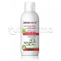 Zuccari AloeVera2 Succo Puro 100% con Antiossidanti 1000ml