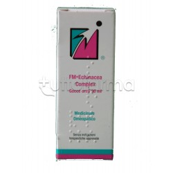 Omeopiacenza FM Echinacea Medicinale Omeopatico Gocce 30ml