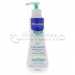 Mustela Stelatopia Crema Emolliente per la Pelle Secca e Atopica Fin dalla Nascita Flacone da 300 ml