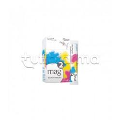 Sanofi Mag 2 Integratore Alimentare di Magnesio 20 Bustine Monodose