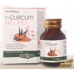 Erba Vita MyCurcum Neuro Integratore Alimentare Neuroprotettivo 60 Capsule