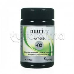 Nutriva Antioxid Integratore Alimentare Antiossidante 30 Softgel