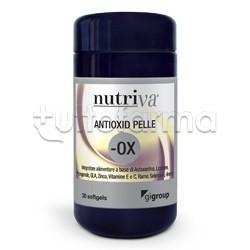 Nutriva Antioxid Pelle Integratore Alimentare per la Pelle 30 Softgel