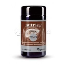 Nutriva Epaval Integratore Alimentare per Fegato 60 Compresse