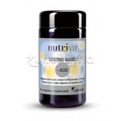 Nutriva Gastro-Basic Integratore Alimentare GastroIntestinale 60 Compresse