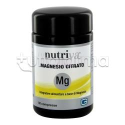 Nutriva Magnesio Citrato Integratore Alimentare di Magnesio 50 Compresse