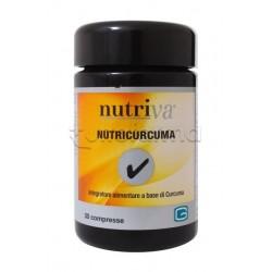 Nutriva NutriCurcuma Integratore Alimentare Antiossidante 60 Compresse