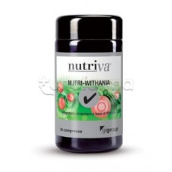 Nutriva Nutri-Withania Integratore Alimentare Antistress 60 Compresse