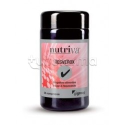 Nutriva Resverox Integratore Alimentare Antiossidante 30 Compresse