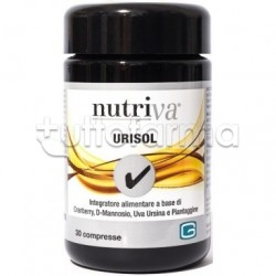 Nutriva Urisol Integratore Alimentare contro E. Coli 30 Compresse