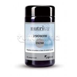 Nutriva Zymonorm Integratore Alimentare per Digestione 60 Compresse