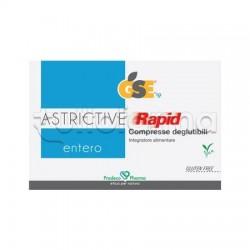 GSE Entero Astrictive Rapid Integratore per Intestino 24 Compresse deglutibili