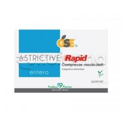 Prodeco Entero Astrictive Rapid Integratore per Intestino 24 Compresse deglutibili