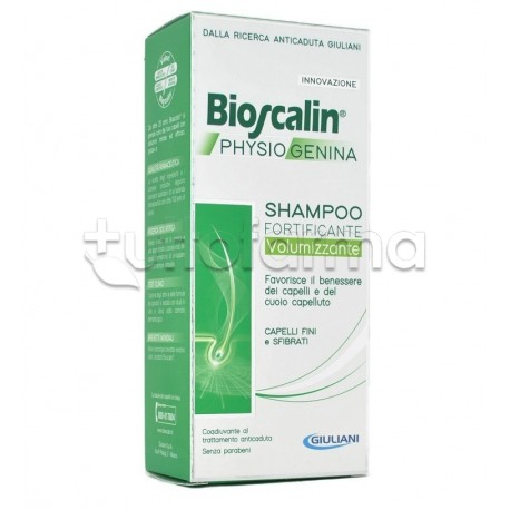 Bioscalin PhysioGenina Shampoo Rinforzante AntiCaduta Capelli 200ml bdcddd397299
