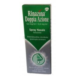 Rinazina Doppia Azione Spray Decongestionante per Naso che Cola 10ml