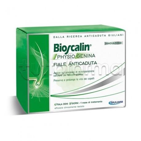 Bioscalin PhysioGenina Fiale AntiCaduta Capelli 10 fiale 159e4b52a092