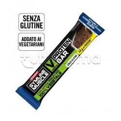 Enervit GymLine Muscle Protein Bar Vegetariana 60g Fondente/Mirtillo