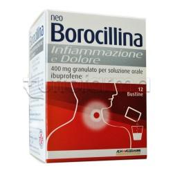 NeoBorocillina Infiammazione e Dolore per la Gola 12 Bustine