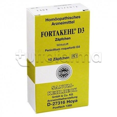Sanum Fortakehl D4 Medicinale Omeopatico 20 Capsule