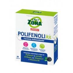 Enerzona Polifenoli Rx Integratore Antiossidante per Stanchezza e Concentrazione 24 Capsule