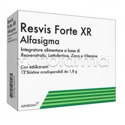 Resvis Forte XR Biofutura per Difese Immunitarie 12 Bustine Orodispersibili