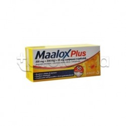 Maalox Plus 30 Compresse Masticabili per Acidità e Bruciore di Stomaco