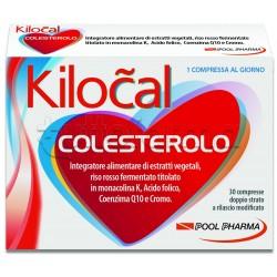 PoolPharma Kilocal Colesterolo Integratore Alimentare 30 Compresse