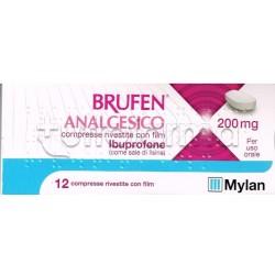 Ibuprofene Mylan 12 Compresse 200 Mg Antinfiammatorio ed Antidolorifico