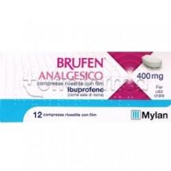 Ibuprofene Mylan 12 Compresse 400 Mg (Equivalente MomentAct)