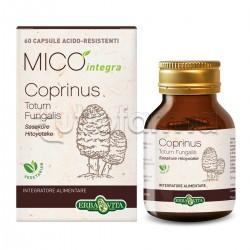 Erba Vita Mico Integra Coprinus Integratore Alimentare AntiIperglicemico 60 Capsule
