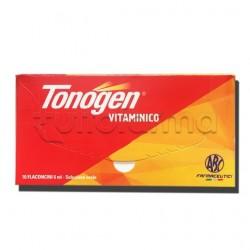 Tonogen Soluzione Orale 10 Flaconi 6 ml 10000