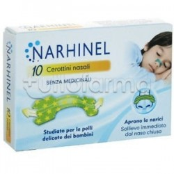 RespiraBene 10 Cerottini Nasali per Bambini